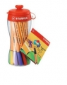 STABILO  POINT 88  MINI SPORTY COLORS - CONF. 18 MINI PENNE ASSORTITE