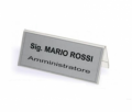 SEGNAPOSTO BIFRONTALE SMALL 95X42mm