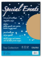 CARTA SPECIAL EVENTS A4 250 GR. GOLD CONF. 10 FOGLI