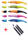 PENNA STABILO EASY ROLLER ORIGINAL PER MANCINI LEFT + 3 RICARICHE BLU (colore come disponibile)